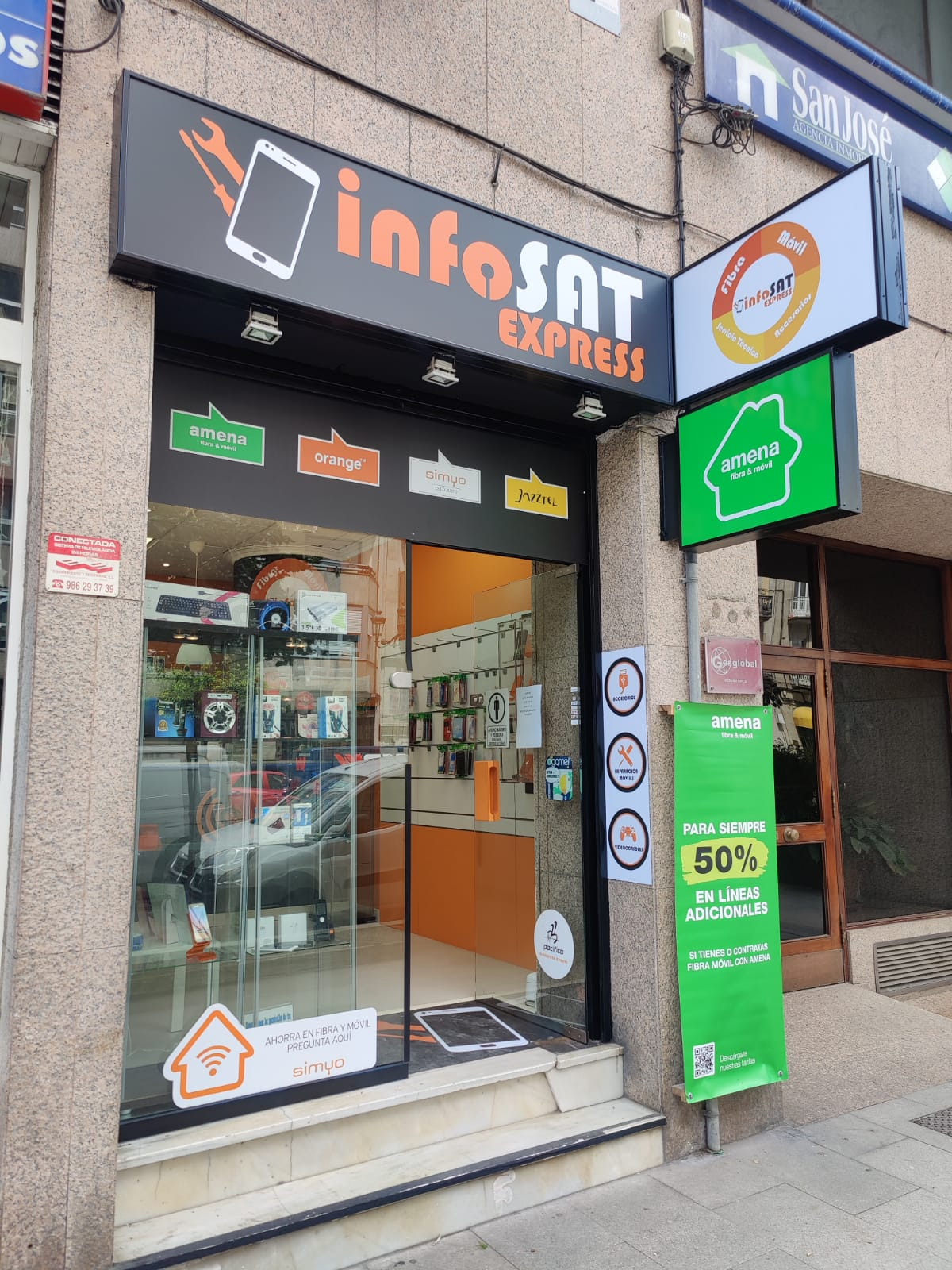 infosat express